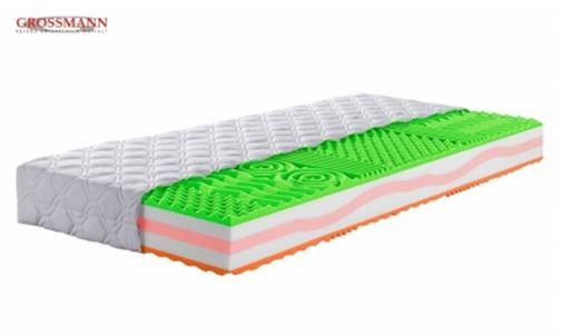 matrace DONAU VISCO - kombinace studené pěny EuroFoam® a paměťové  pěny Carpenter®, cena: 5 950 Kč (www.grossmann-matrace.cz)